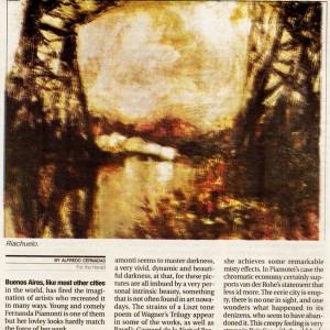 bajo sur 29 de Noviembre de 2009 - diario herald -